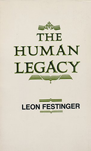 The Human Legacy: L Festinger