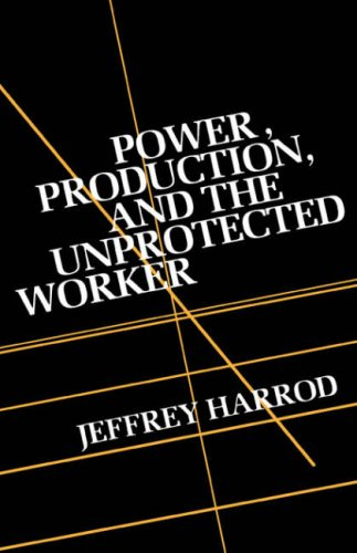 9780231058445: Power,  Production,  and the Unprotected Worker