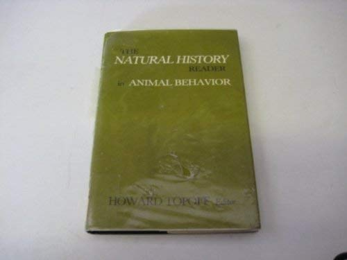 9780231061582: The Natural History Reader in Animal Behaviour