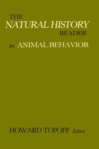 9780231061599: The Natural History Reader In Animal Behavior