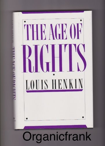 9780231064446: The Age of Rights
