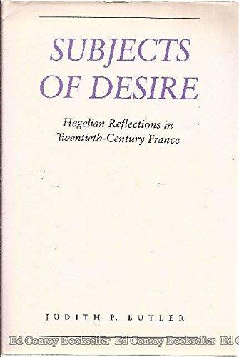 9780231064507: Subjects of Desire: Hegelian Reflections in Twentieth-Century France