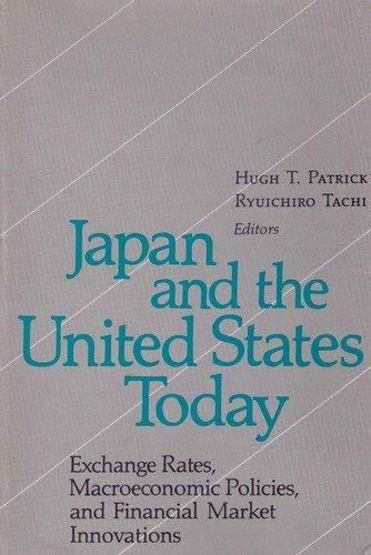 Japan and the United States Today: Exchange