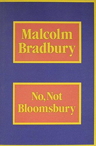 9780231067263: No, Not Bloomsbury