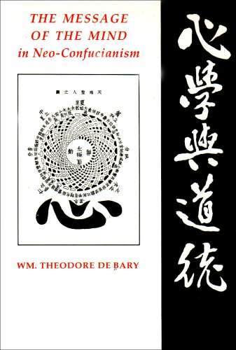 The Message In The Mind In Neo Confucianism