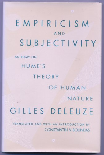 9780231068123: Empiricism and Subjectivity: An Essay on Hume's Theory of Human Nature (European Perspectives)