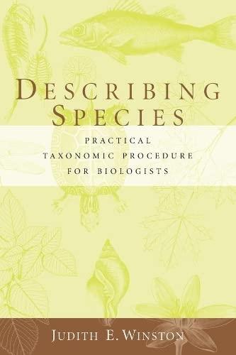 9780231068246: Describing Species