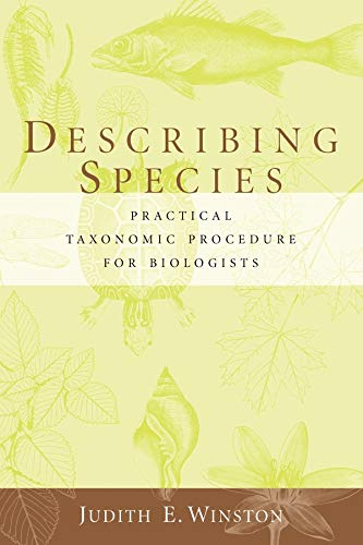 9780231068253: Describing Species