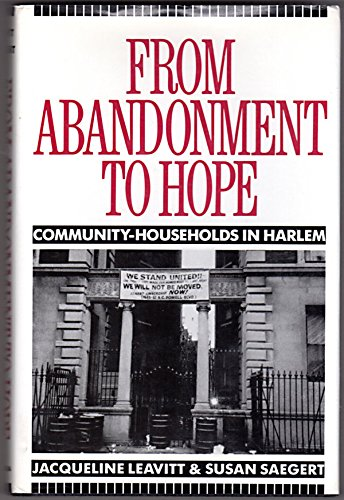 9780231068468: From Abandonment to Hope: Community-Households in Harlem (Columbia History of Urban Life)