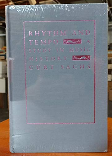 9780231069106: Rhythm and Tempo: A Study in Music History