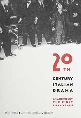 9780231071185: Twentieth-Century Italian Drama