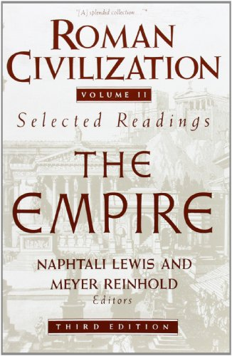 9780231071338: Roman Civilization: A Sourcebook: Roman Empire v. 2 (Records of Civilization Sources & Study)