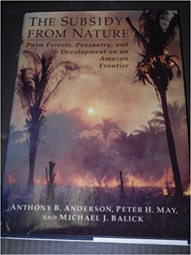 The Subsidy from Nature (Biology and Resource: Anderson, Anthony B.,