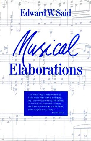 9780231073189: Musical Elaborations