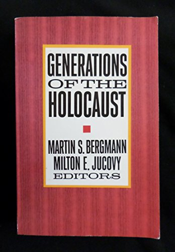 9780231074230: Generations of the Holocaust