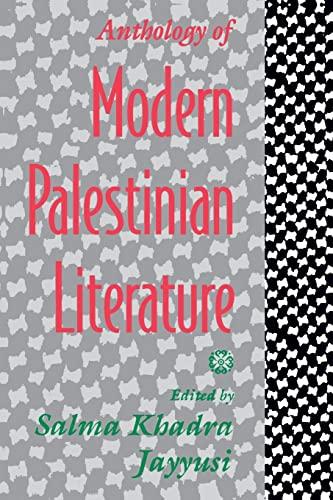 9780231075091: Anthology of Modern Palestinian Literature