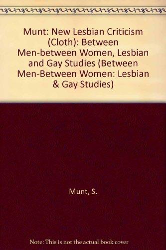 9780231080187: New Lesbian Criticism