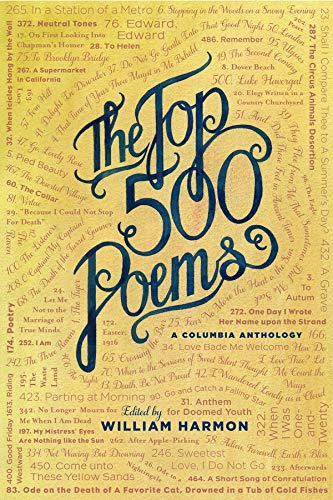 9780231080286: The Top 500 Poems