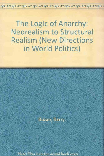 9780231080408: The Logic of Anarchy: Neorealism to Structural Realism (New Directions in World Politics)