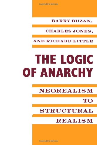 9780231080415: The Logic of Anarchy: Neorealism to Structural Realism (Political Economies of International Change)