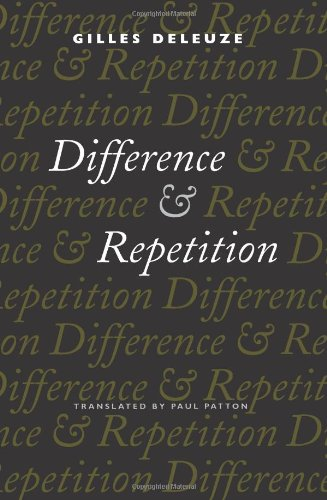 9780231081597: Difference and Repetition