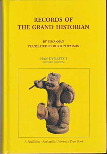 9780231081641: Records of the Grand Historian: Han Dynasty I (Records of Civilization, Sources and Studies, No. 65)