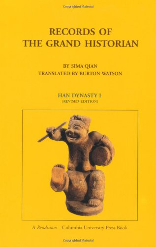 9780231081658: Records of the Grand Historian: Han Dynasty I