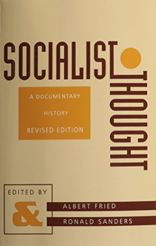 9780231082655: Socialist Thought: A Documentary History (A Morningside Book)