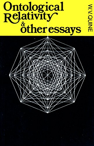 9780231083577: Ontological Relativity & Other Essays