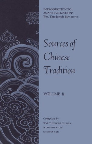 9780231086035: 002: Sources of Chinese Tradition, Volume II