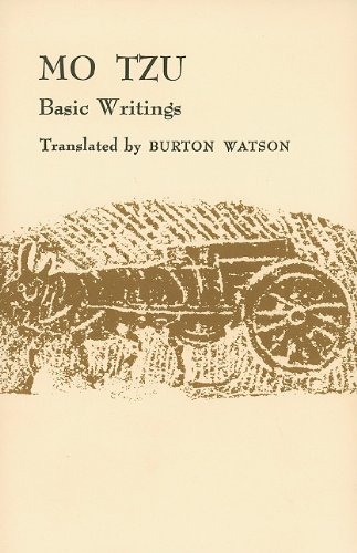 9780231086080: Mo Tzu: Basic Writings (Translations from the Asian Classics)