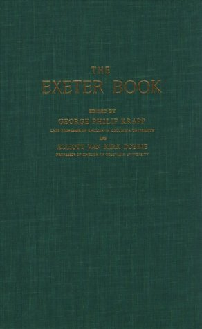 9780231087674: The Exeter Book