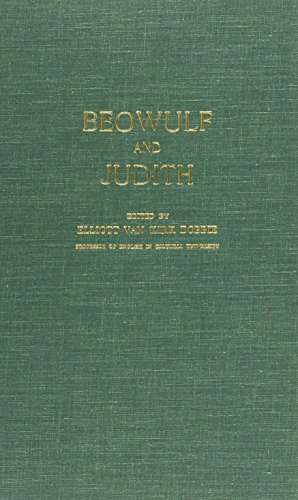 Beowulf and Judith: Dobbie, Elliott V.
