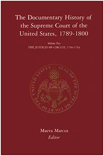 9780231088695: 2: The Documentary History of the Supreme Court of the United States, 1789-1800
