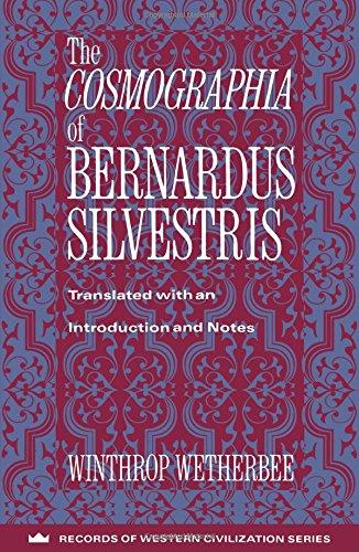 9780231096256: The Cosmographia of Bernardus Silvestris