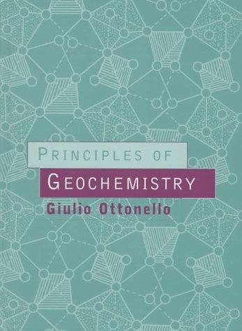 Principles of Geochemistry: Giulio Ottonello