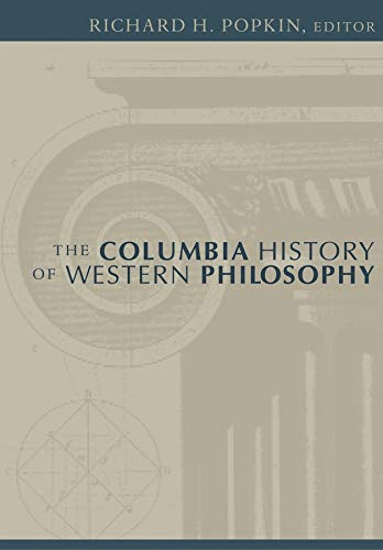9780231101295: The Columbia History of Western Philosophy