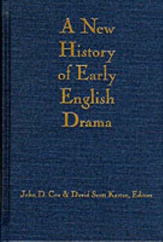 A New History of Early English Drama