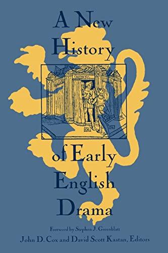 9780231102438: A New History of Early English Drama (World Bank Comparative Macroeconomic)