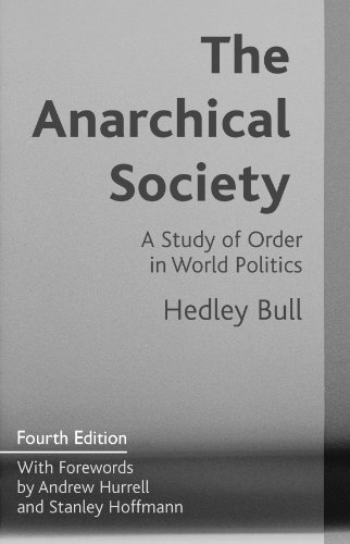 9780231102971: The Anarchical Society
