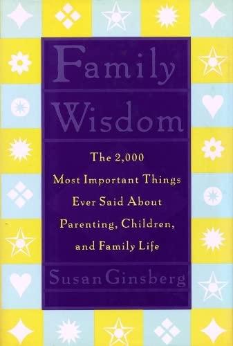9780231103763: Family Wisdom