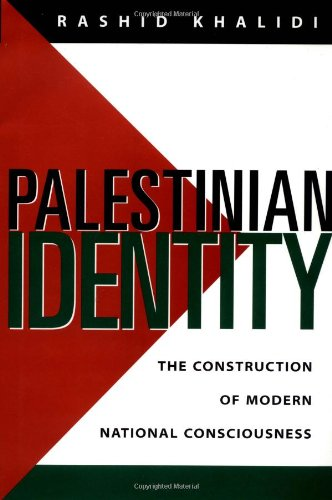 9780231105149: Palestinian Identity: The Construction of Modern National Consciousness