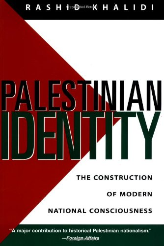 9780231105156: Palestinian Identity: The Construction of Modern National Consciousness