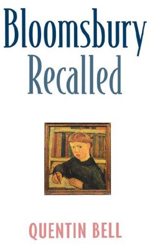 9780231105644: Bloomsbury Recalled