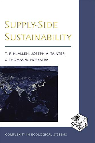 9780231105873: Supply-Side Sustainability