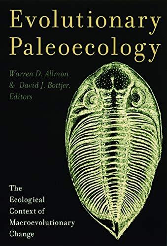 9780231109949: Evolutionary Paleoecology: The Ecological Context of Macroevolutionary Change
