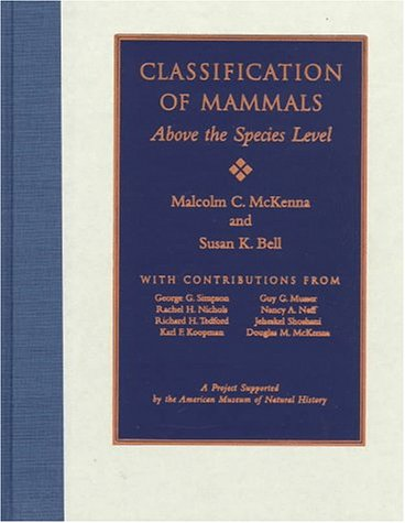 9780231110129: Classification of Mammals