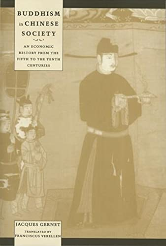 9780231114110: Buddhism in Chinese Society: An Economic History from the Fifth to the Tenth Centuries (Studies in Asian Cultures)