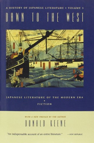 9780231114356: Dawn to the West: Japanese Literature in the Modern Era