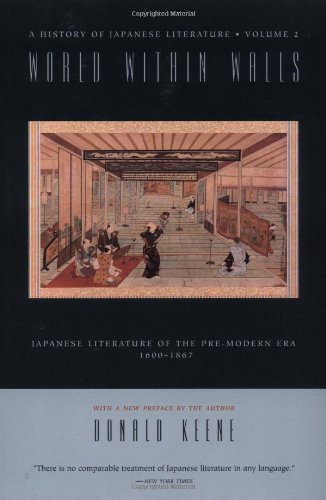 9780231114677: World Within Walls: Japanese Literature of the Pre-Modern Era, 1600-1867